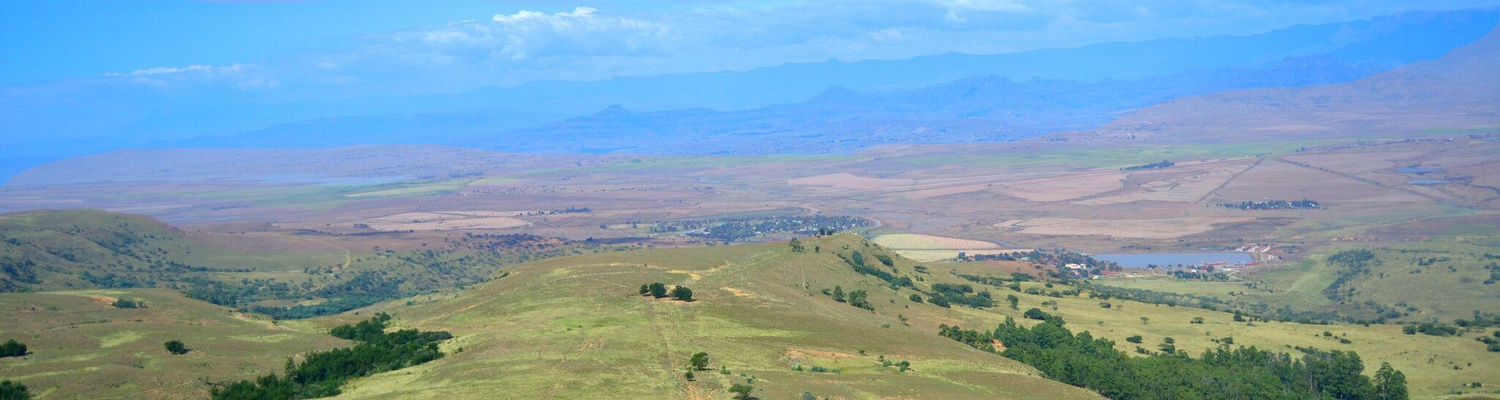 Stunning Views of The Drakensberg Mountains. Central and Northern Drakensberg.
