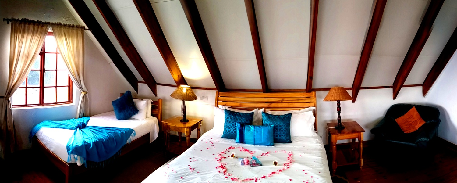 Comfortable  Rooms with Stunning Views at Drakensberg Mountain Retreat.