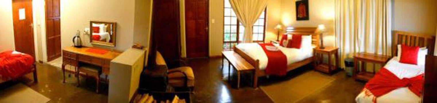 Comfortable spacious rooms Drakensberg Mountain Retreat. Northern Drakensberg.