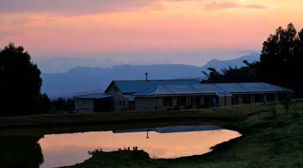 Self-Catering Barnhouse at Drakensberg Mountain Retreat.