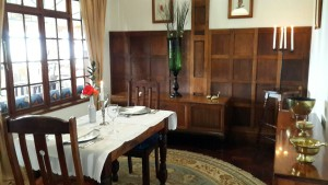Drakensberg private dining room