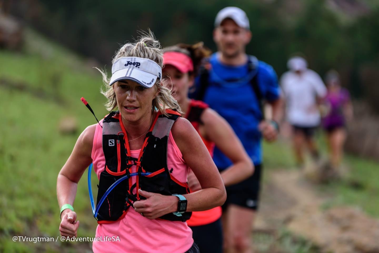 Dumbe Trail Run Group On A Trail
