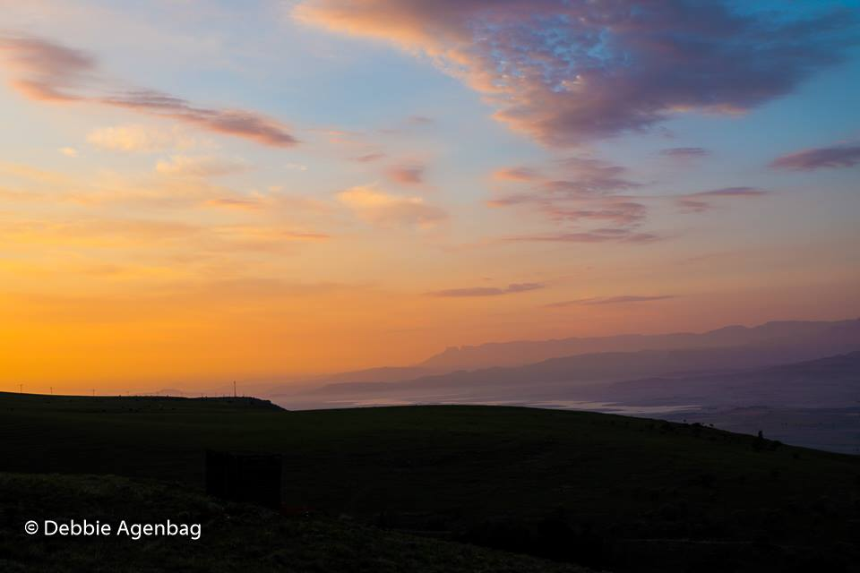 Sunset At Drakensberg Mountain Retreat
