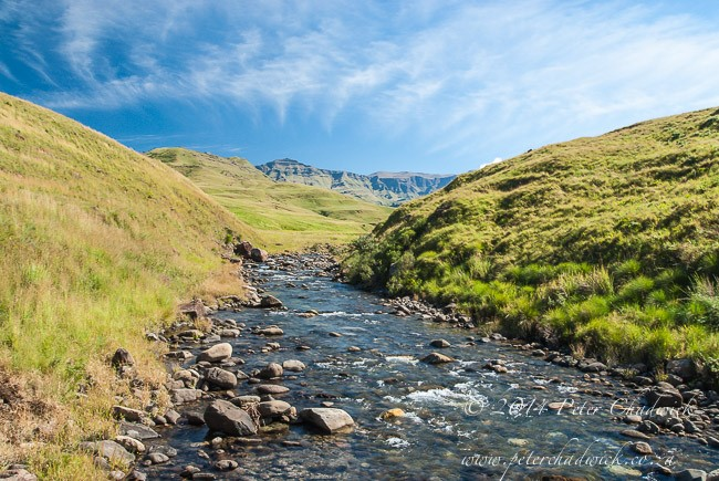 rivers in the Drakensberg Mountains
