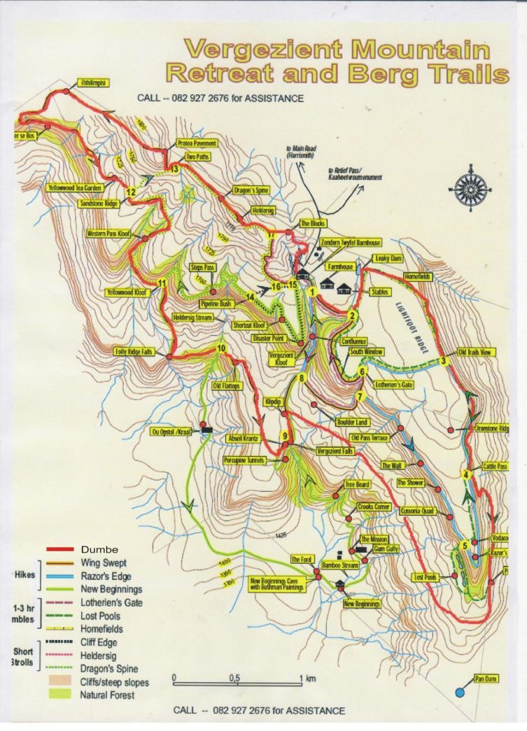 Drakensberg Mountain Retreat Trails
