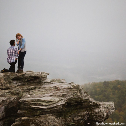 WANT TO POP THE QUESTION SURROUNDED BY MAJESTIC PEAKS? TIPS FOR THE PERFECT MOUNTAIN PROPOSAL