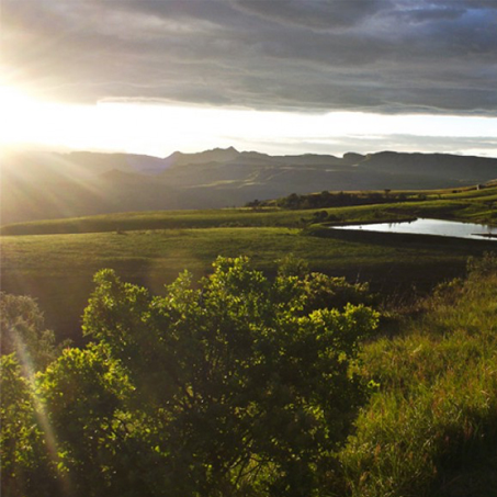 Drakensberg Mountains View - Christmas In The Mountains