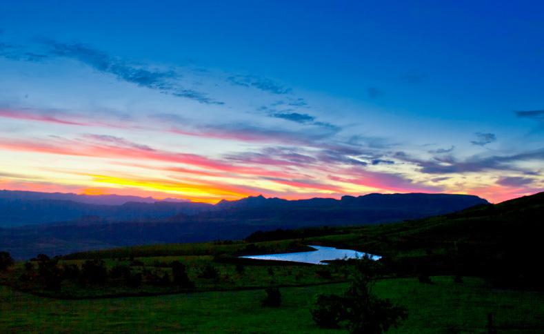 Drakensberg - view of the sky