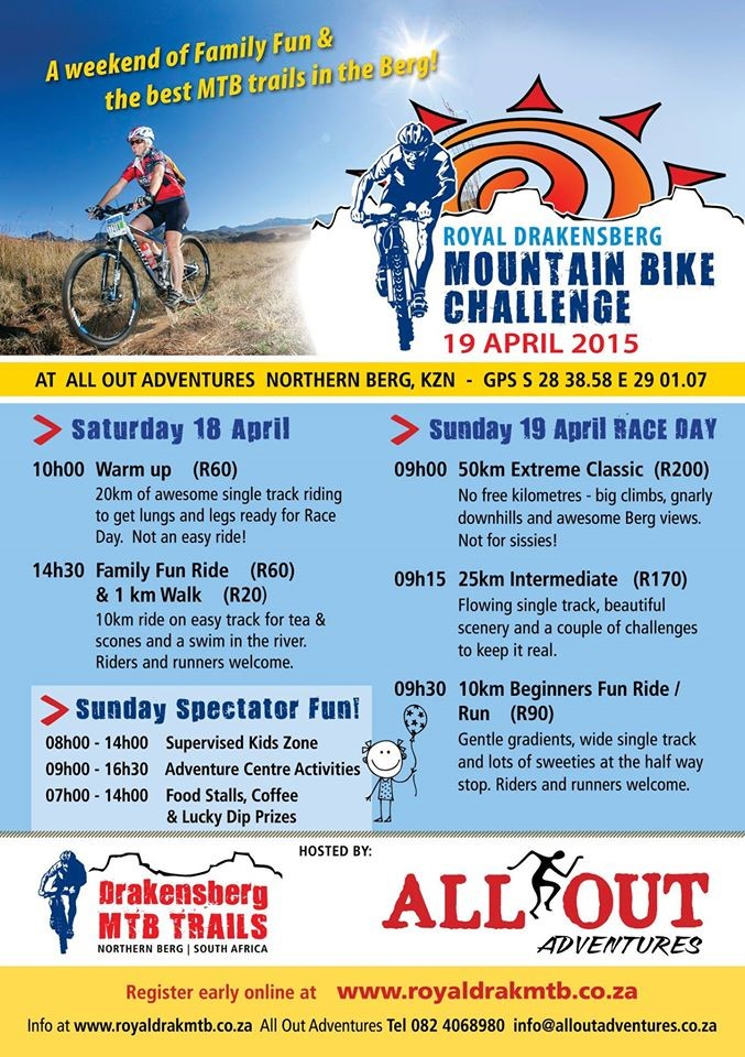 Mountain Bike Race Drakensberg