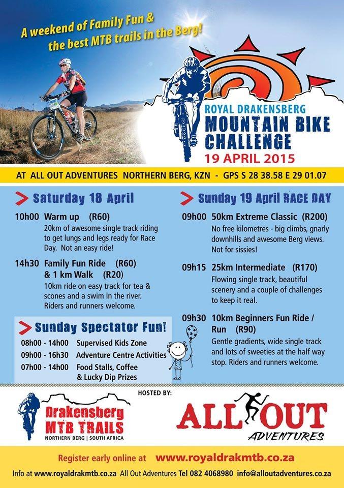 Mountain Bike Race Drakensberg