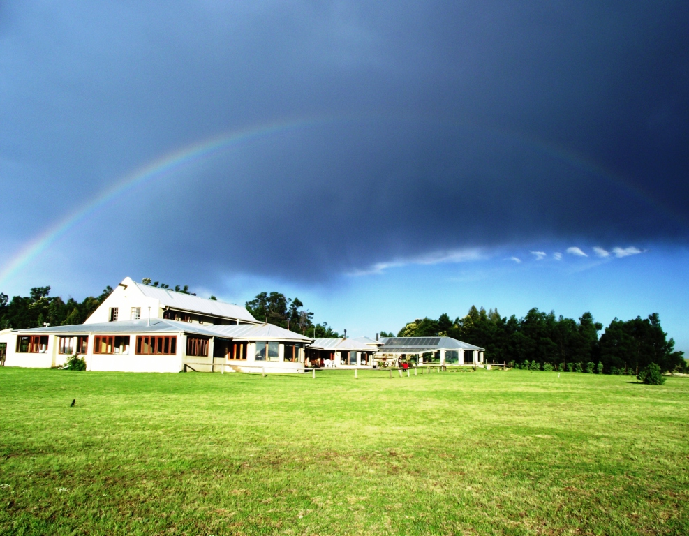 Rainbow Over Drakensberg Mountain Retreat