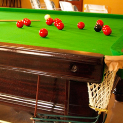 Snooker Table - Christmas In The Mountains