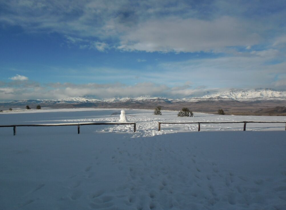 Snowy View At DMR