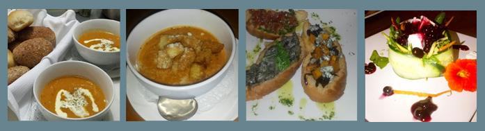Drakensberg - menu - starters
